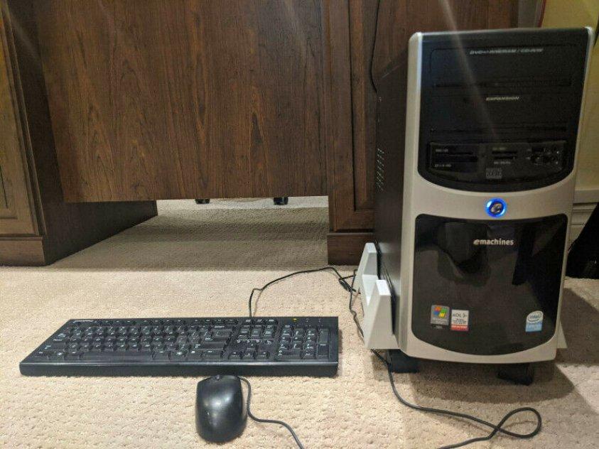 DESKTOP COMPUTER eMachines T3656 - INTEL