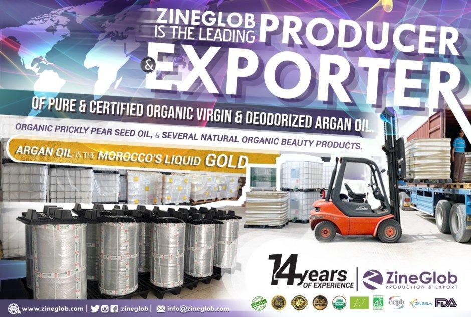ZineGlob: MOROCCAN ARGAN OIL SUPPLIER