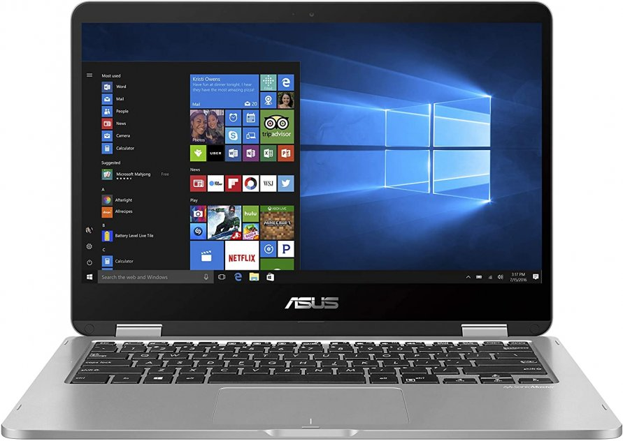 "ASUS VivoBook Flip 14 Thin and Light 2-in-1 Laptop, 14"" HD Touchscreen"