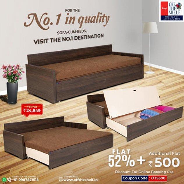 Manufacturer of Sofa Cum Beds in Mumbai- Offtheshelf.in