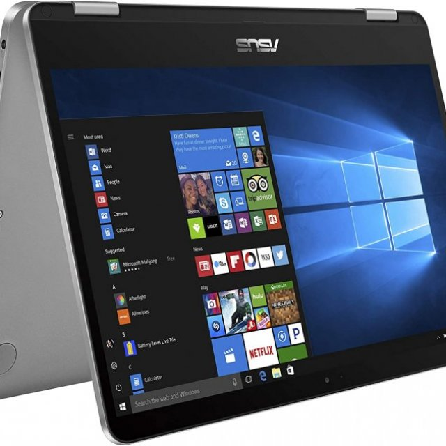 """ASUS VivoBook Flip 14 Thin and Light 2-in-1 Laptop, 14"""" HD Touchscreen"""