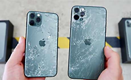 iPhone 8 Plus X XR XS MAX 11 Pro Back Glass broken cracked FAST