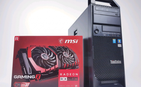 Budget Gaming PC RX 570 4GB/Xeon 3.7Ghz/16GB/SSD+HDD/Wifi