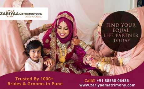 Muslim Marriage Bureau In Pune - Mumbai Muslim Matrimony -zariyaamatrimony.com
