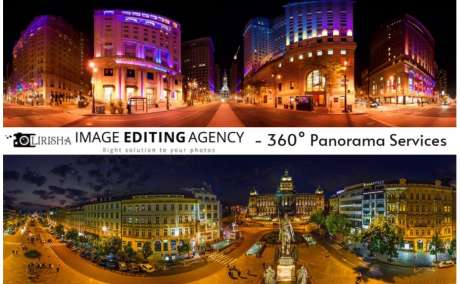 360 Panorama Services by Lirisha Image editing agency