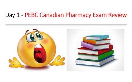 Certified PEBC pharmacy technician