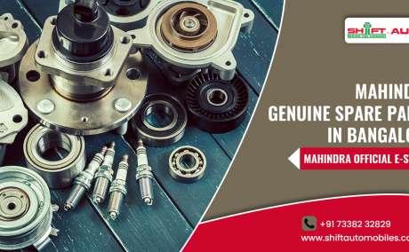 Mahindra Genuine Spare Parts - Shiftautomobiles.com